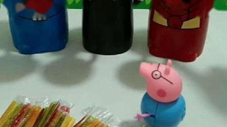 小猪们被抓了,要用糖果才愿交换,怎么办呀