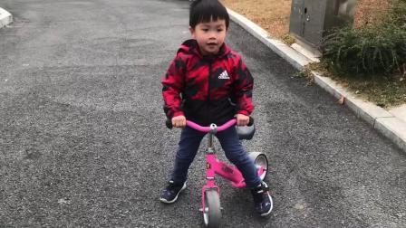 2021.1.10行行村公园踩单车