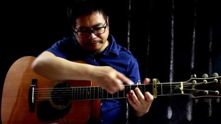 【潮湿的心】阿涛风格吉他曲集2示范教学