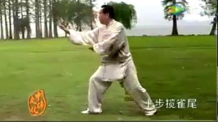 85式杨氏太极拳赵幼斌演示(呼伦贝尔大草原+口令)