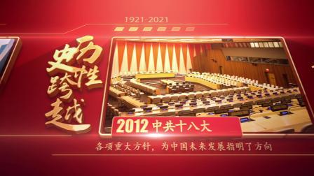 AE913 建党百年时间轴图文展示党政类AE模板