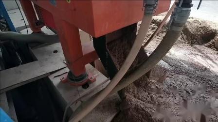 kes卧螺离心机应用泥浆处理现场-1