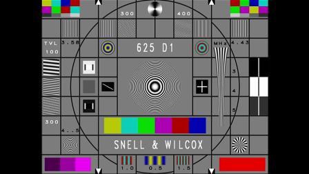 增强版电子大圆(SNELL & WILCOX)测试卡