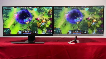 优派显示器对比实验室 NanoIPS对比IPS
