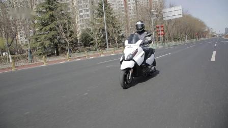 【摩托车杂志】车评:宗申比亚乔X7,19980元能给你的都给你了!