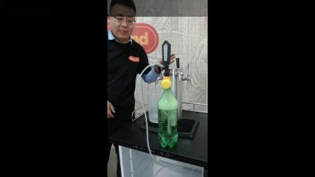 Kegland  新款五代啤酒机管路清洗消毒及打酒演示