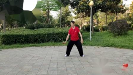 (1)柔力球功夫拍练习《规定套路第一套 》
