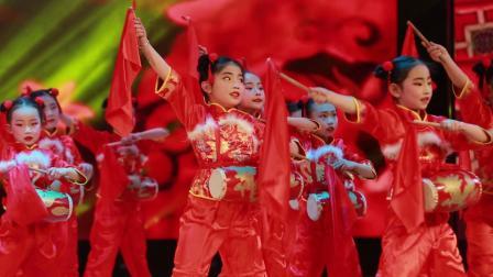 2020银河之星全国少儿舞蹈展演 单位:榆林市灿灿舞蹈培训中心节目:《吉祥腰鼓》