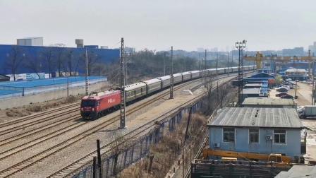 【火车视频集锦】清明•友谊桥赏车