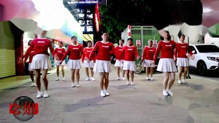 2021龙川思念广场舞姐妹演示:我这一生不容易