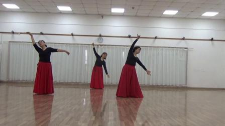 舞蹈可可托海的牧羊人习舞愉敏,小华,红珊瑚