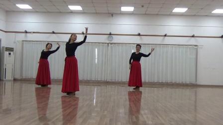 舞蹈可可托海的牧羊人习舞雅娟,迎博,阿兰
