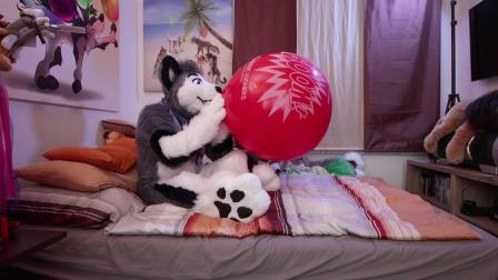 ⚠️ Huge Red 🧡 BOOM! 🧡 Balloon - Skeppo -