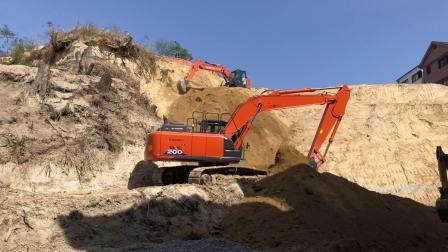 日历3台挖掘机使用特别工具