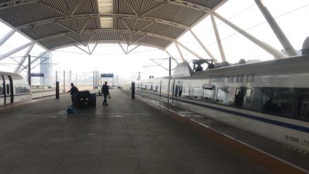 G6393次(广州南站-潮汕站)本务广州动车段CRH380AL-2920广州南站出站