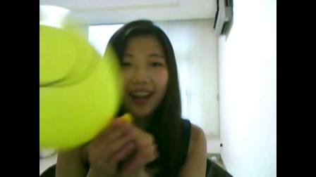 (气球迷恋)吹气球