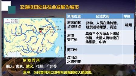 高一地理42交通运输布局对区域发展的影响