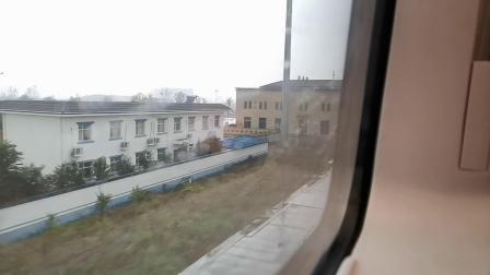 20201008 105220 西成高铁D6858次列车进鄠邑站