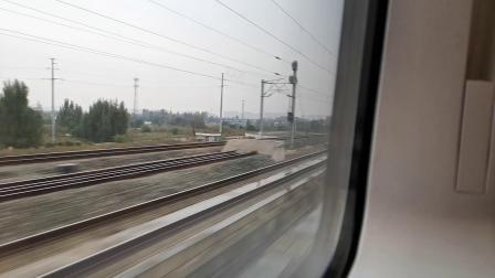 20201008 110341 西成高铁D6858次列车高速通过阿房宫站