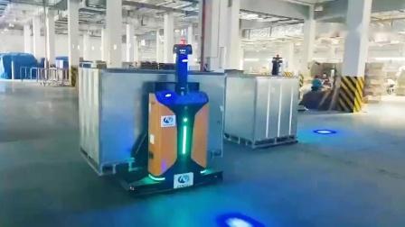 浙江斯爵思叉车式自动小车AGV