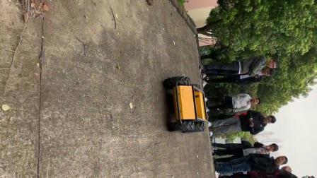 湖北工业大学Husky爬坡视频