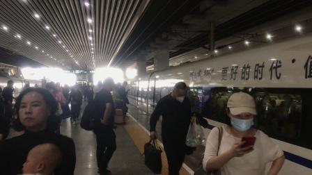 G1028次(深圳北站-宜昌东站)本务武汉动车段CRH380AL-2586广州南站进站