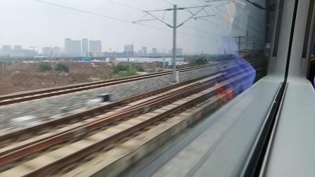 20201008 124752 西成高铁D6861次列车高速通过阿房宫站