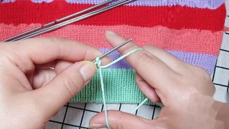 珍珍编织背心1起针