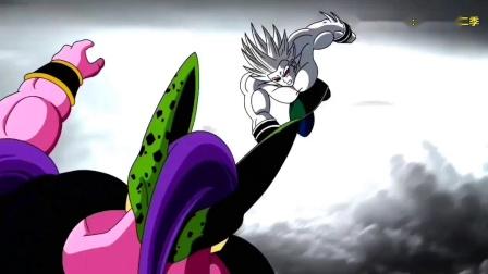 龙珠同人:恐怖的黑暗即将来袭,超级赛亚人10VS沙鲁布欧