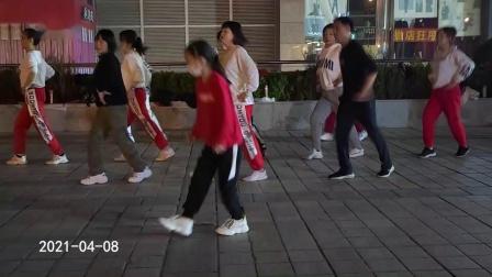百荣开心快乐曳步舞《卓玛拉》 2021-04-08