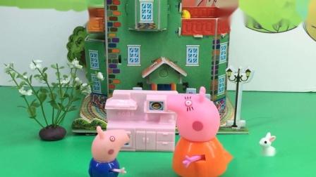 小猪家来了两个乔治,佩奇认对了吗?