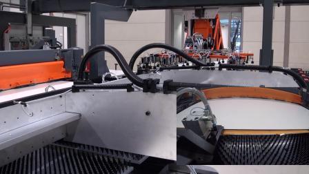 内墙钣金生产线Sheet Metal Production Line  Video For Interior Wall Systems
