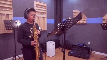 【镇江萨克斯】学生录音作品展《啊,朋友再见》演奏:李科桦