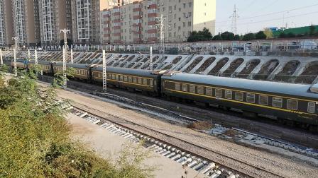 20201017 164513 陇海铁路客车K2046次列车出西安站