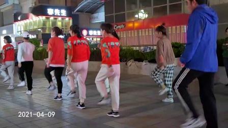 百荣开心快乐曳步舞《88步》 2021-04-09