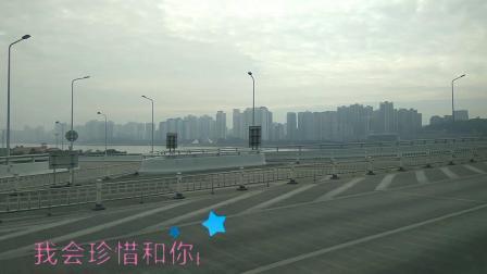 浙江温州东瓯大桥横跨江心屿