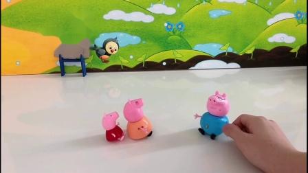 小猪佩奇偷偷做的事情被猪爸爸知道了,猪爸爸生气了