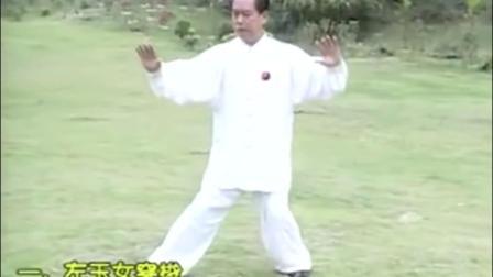 赵幼斌老师85式太极拳套路分解-王爷株洲