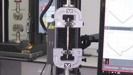 英斯特朗试验机电缆线扭转测试