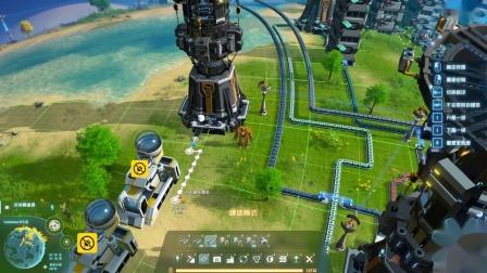 【猴】戴森球计划:俯视版肝帝工厂13【绿色方块制造】