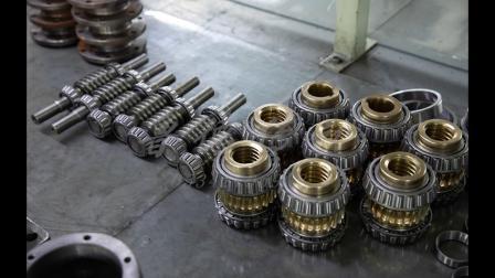 从原料到成品的演变蜗轮丝杆升降机部件加工