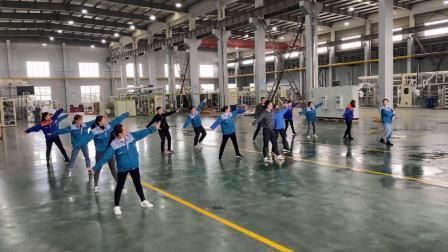 金卫车间舞蹈队-咱们工人有力量