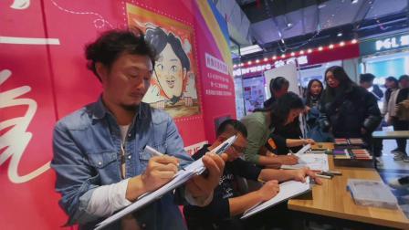 大叔漫画王西振现场肖像漫画商演 肖像漫画速绘活动