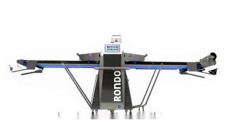 Rondostar 5000新一代全自动电脑压面机新特点在于革新的i-Touch触控操作