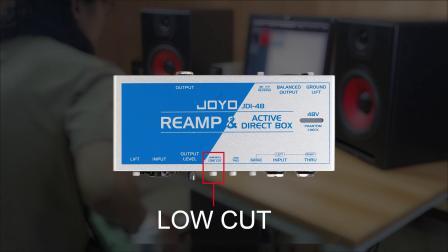 JOYO JDI-48 有源DI盒&REAMP盒 使用教程