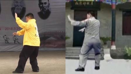 傅清泉导师演练转身摆莲