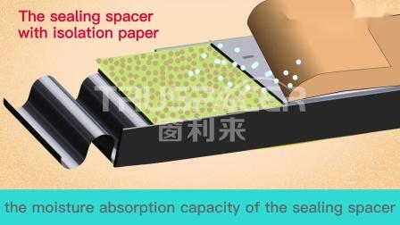 中空玻璃胶条为什么要选用塑料隔离膜---英文版