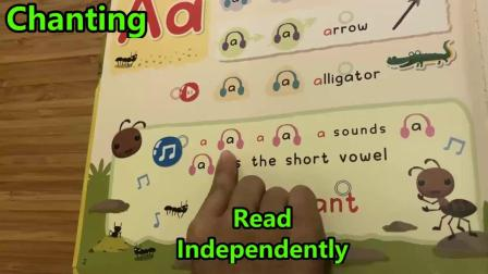 Demo 1 _ Finger Phonics Sound Book 1-U1 _New learning experience for young kids