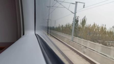 20201024 122248 西成高铁D6864次列车运行于鄠邑站至阿房宫站区间