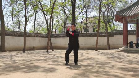 陈辉院长综合套路展示   地点:杨露禅学拳处